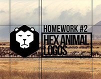 Homework #2 / Hex Animals Logos
