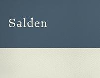 Salden typeface