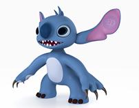 Stitch - 3D Modeling in MAYA