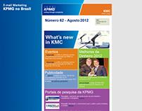 E-mail marketing KPMG no Brasil