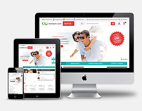 LensKart - Responsive E-Commerce Website Design
