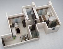 3D Architectural Floor Plans