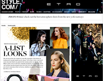 ETRO | Online Advertising Campaign AW1314
