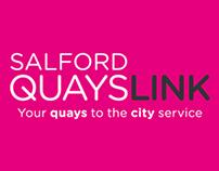 Salford QuaysLink branding