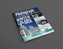 Photographer Magazine Cover Template Vol.2