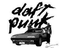 DAFT PUNK / RANDOM ACCESS MEMORIES - Tribute Artwork