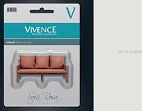 Ad Revista Magazine Casa Shopping | Cliente: Vivence