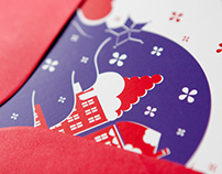 MONDELEZ Christmas cards