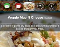 appetize.it iPhone app designs