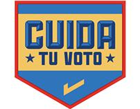 Cuida Tu Voto Logotípo