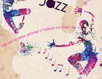 Black Ballet Jazz Poster