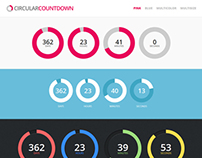 Circular Countdown WordPress Plugin