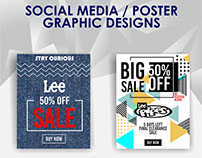 SOCIAL MEDIA / POSTER GRAPHIC DESIGNS