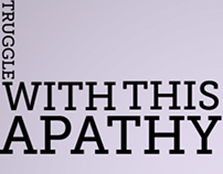 Apathy (Typography Video)