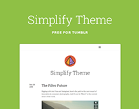 Simplify Tumblr Theme (Free)