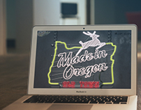 Made in Oregon Neon Sign