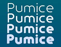 Pumice Typefamily