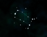Line Zodiac Signs with Constellations