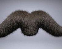 3D Moustache