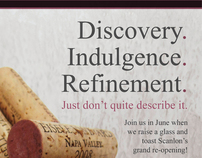 Scanlon's Restaurant Magazine Ads