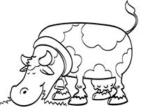 Vector farm animals