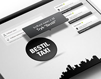 Design af Taxi bestilling App