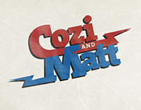 Wedding invite for Cozi and Matt.