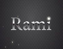 Rami Name Logo