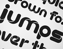 Roundy Typeface