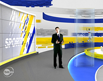 News Virtual Set