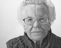 Pencil Portrait of Patricia