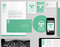 // Logo and Identity for Drive Guru