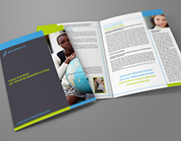 Company Brochure Bi-Fold Template Vol.13