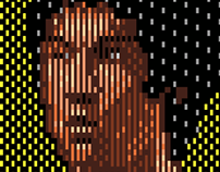The Series of The Pixel Portrait