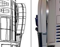 R2D2 - Gradient Mesh Image