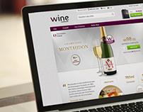 Hotsite Champagne Montaudon - Wine.com.br