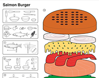Recipe Book: Salmon Burger