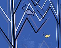 Sadhe Letterform Poster