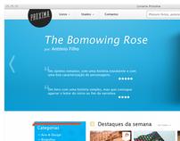 """Próxima"" Bookstore website"