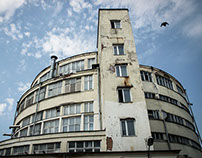 Moscow avant-garde. Constructivist architecture.