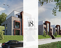 Logo & Brochure Design / 4ever18 - LAKE CONSTANCE