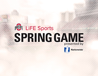 Ohio State LiFE Sports Spring Game Collateral