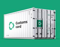 Customs card