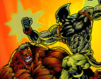 Ajax Vs Red Hulk