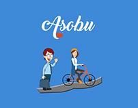 Asobu Logo Design
