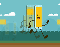 Animações para as redes sociais (GIFs variados)