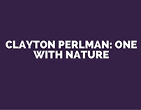 Clayton Perlman: One with Nature