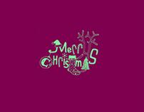 * Christmas card *