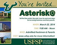 FICTIONAL PROJECT: USF - St. Pete Marketing Materials
