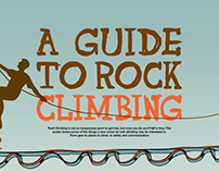 A Guide to Rock Climbing Infographic 2013